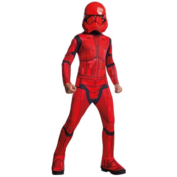 Kostüm Red Stormtrooper Classic EP. IX L 8-10 Jahre