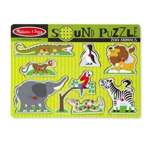 Sound Puzzle Zootiere Soundpuzzle