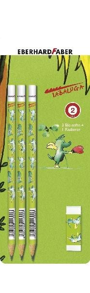 Tabaluga Bleistifte + Radierer