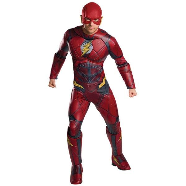 Kostüm Flash Deluxe JL STD