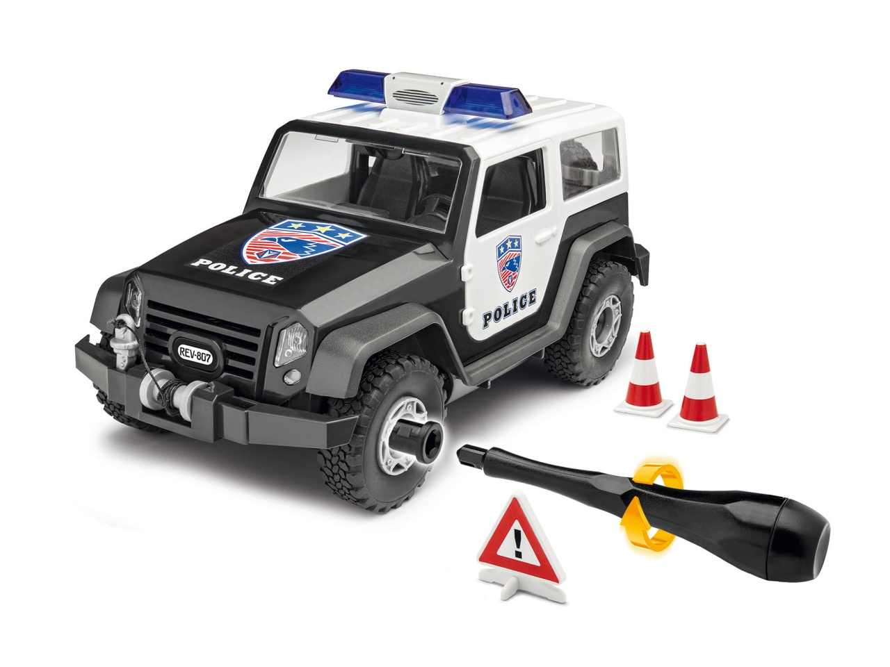 Revell Junior 00807 Offroad Vehicle Police