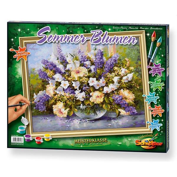 Schipper Malen nach Zahlen  Sommerblumen