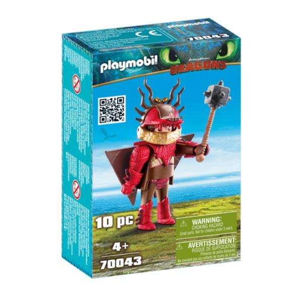 Playmobil 70043 Dragons Rotzbakke mit Fluganzug