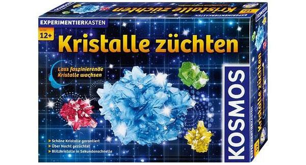 Experimentierkasten Kristalle züchten von Kosmos