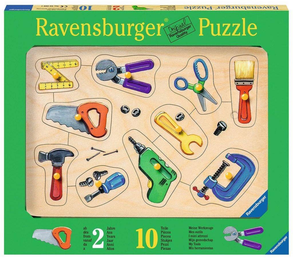 Puzzle Meine Werkzeuge 10T.
