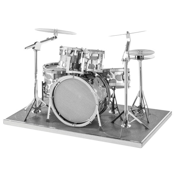 Bastelset Metal Earth Drum Set