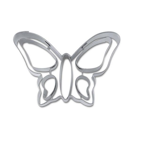 Ausstecher Schmetterling ca. 8cm Edelstahl