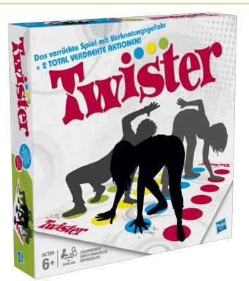 Twister Partyspiel von Hasbro