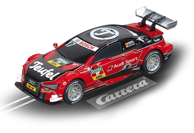 Carrera Digital 143 Teufel Audi RS 5 DTM M.Molina No.17