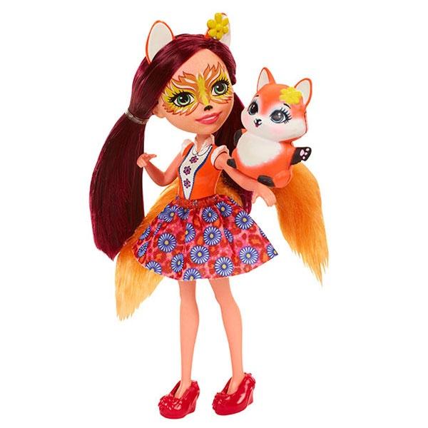 EnchanTimals Puppe Fuchsmädchen Felicity Fox