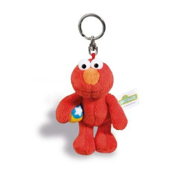 Nici Schlüsselanhänger Sesamstraße Elmo 10cm