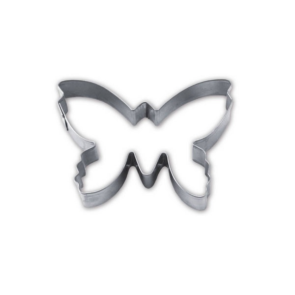 Ausstecher Schmetterling ca. 7 cm Edelstahl