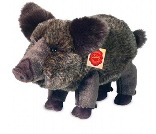 Teddy Hermann Plüschtier Wildschwein 30 cm