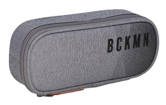 Beckmann Ovale Federmappe Sport Junior Grey