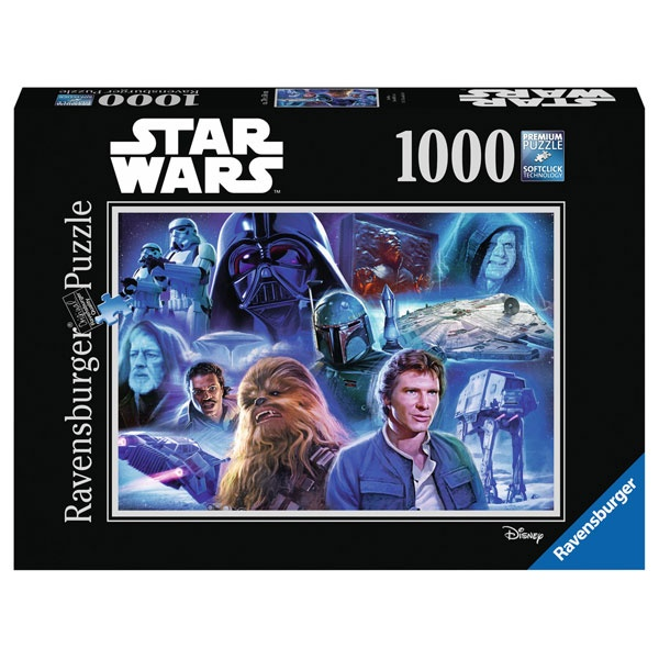 Ravensbuger Puzzle Star Wars Collection 2 1000 Teile