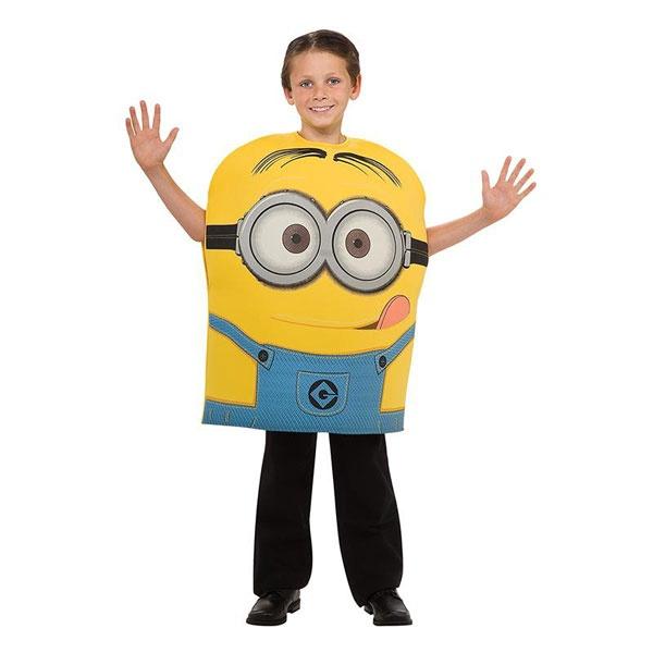 Kostüm Minion Dave gelb S 3-4 Jahre