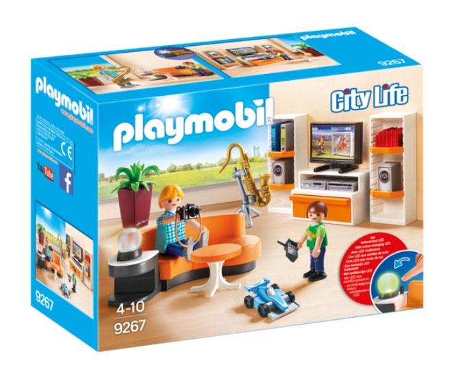 Playmobil 9267 City Life Wohnzimmer