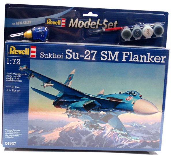 Revell 64937 Modelset Sukhoi SU-27 SM Flanker 1:72