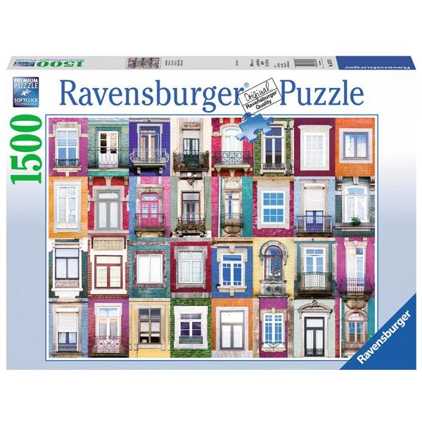 Puzzle Fenster in Porto 1500 Teile