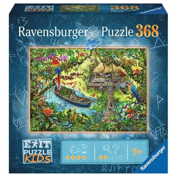 Ravensburger Puzzle EXIT Kids Die Dschungelexpedition 368 T