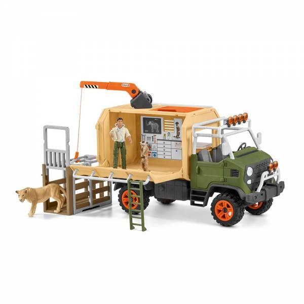 Schleich Wild Life Großer Truck Tierrettung 42475