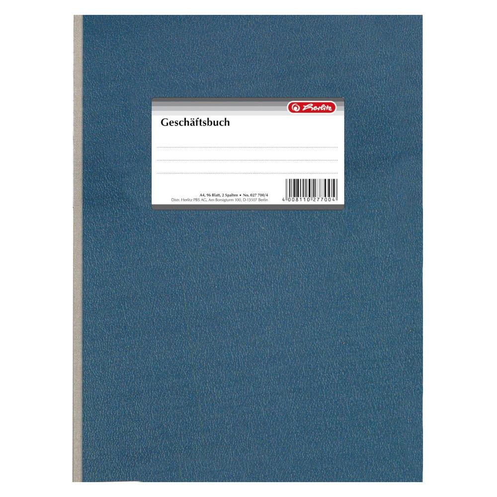 Herlitz Geschäftsbuch A4