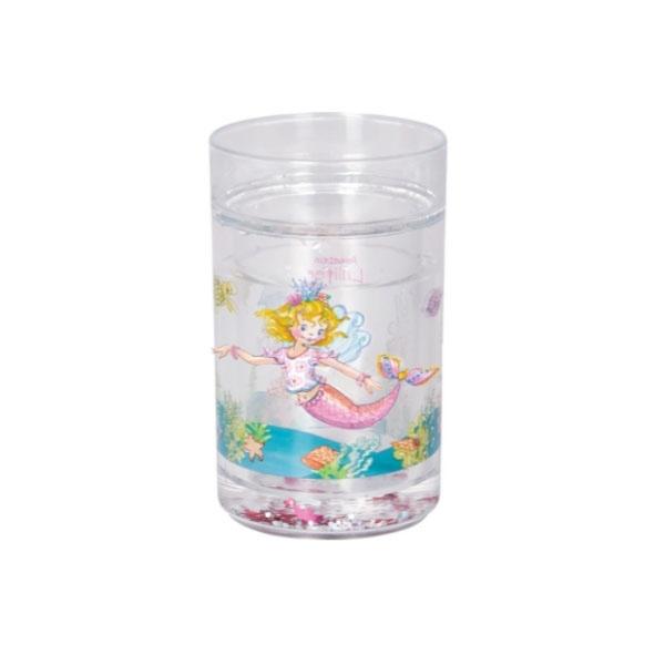 Prinzessin Lillifee Glitzerbecher mit Schwimmelementen