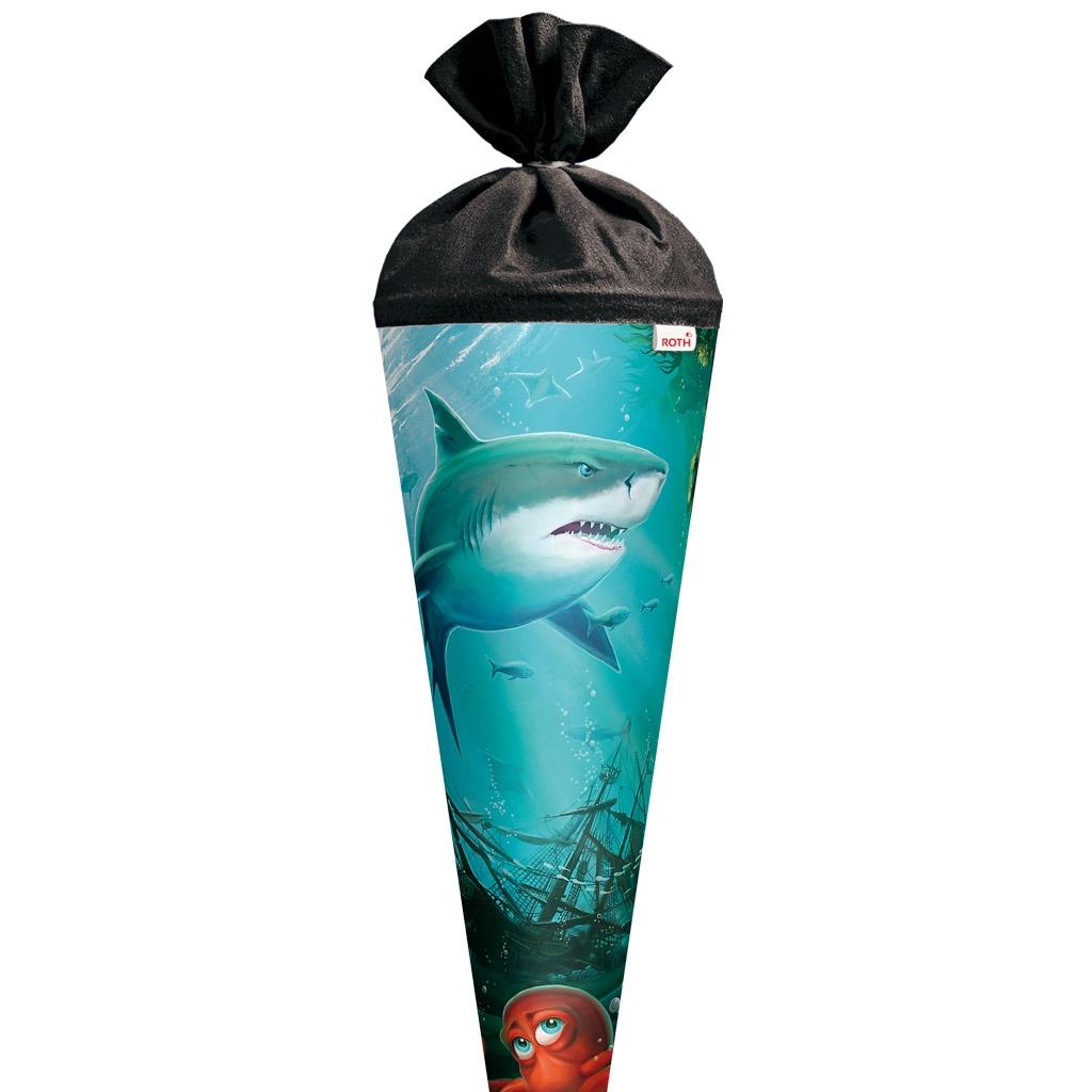 Roth Schultüte Hai mit Krake 70 cm