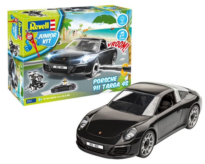 Revell Junior Kit Porsche 911 Targa 4S  1:20