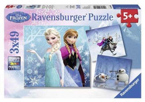 Puzzle Disney Die Eiskönigin Abenteuer im Winterland