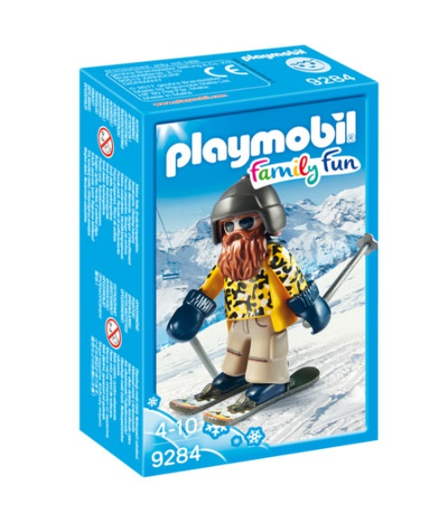 Playmobil 9284 Family Fun Skifahrer mit Snowblades
