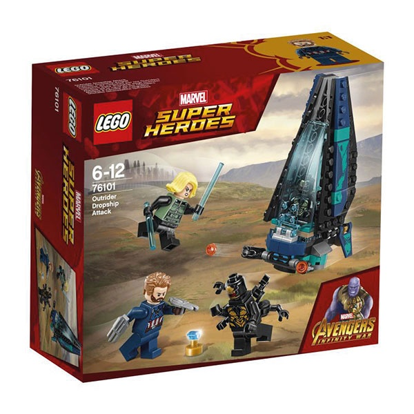 Lego Super Heroes 76101 Outrider Dropship-Attacke