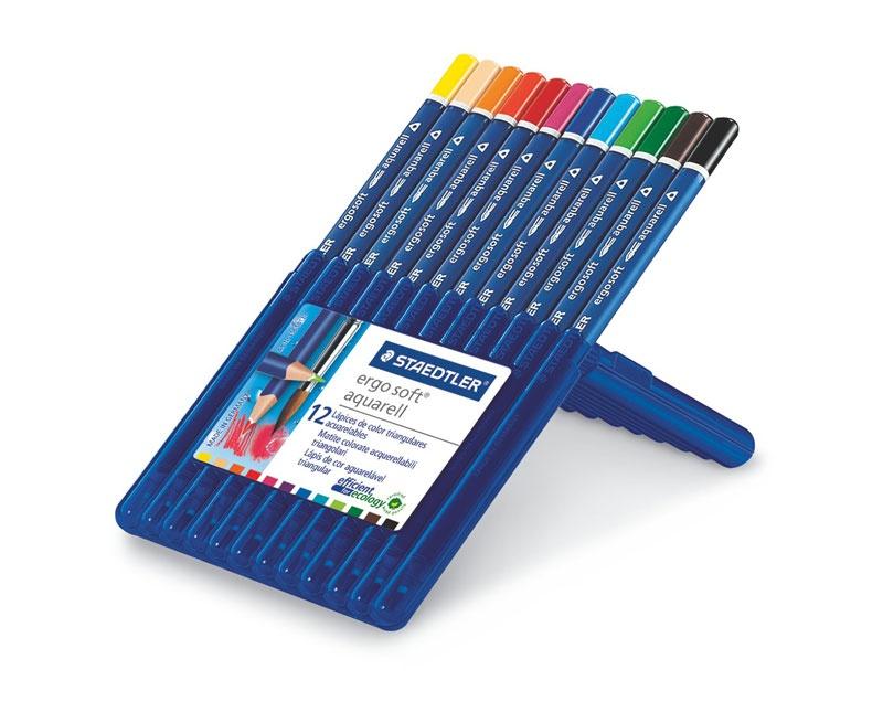 Staedtler Farbstifte ergosoft aquarell 12 Stück Packung