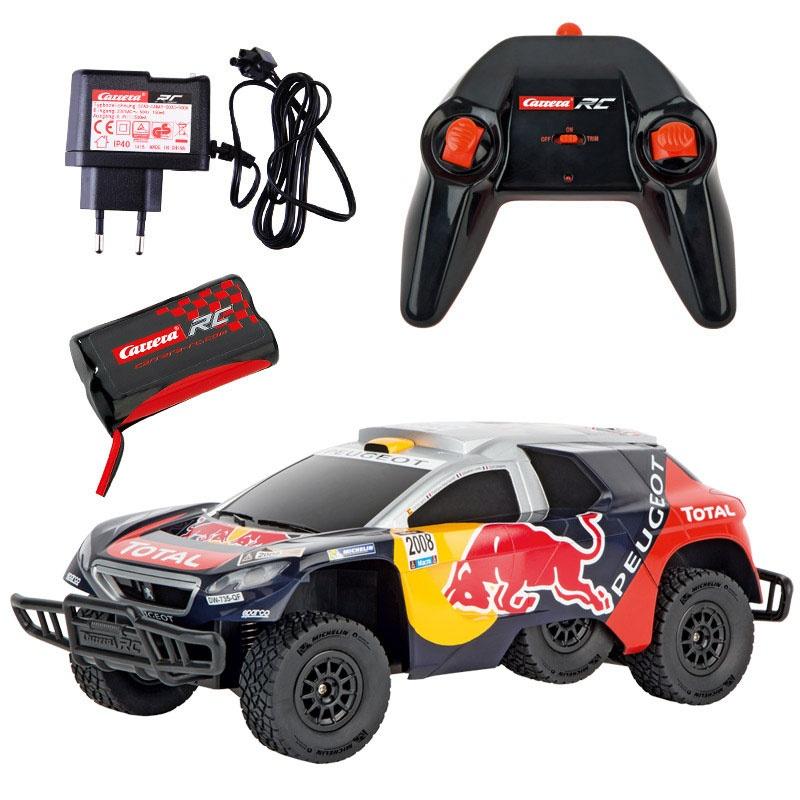 Carrera RC Peugeot Red Bull DKR 16 1:16 2,4 GHz