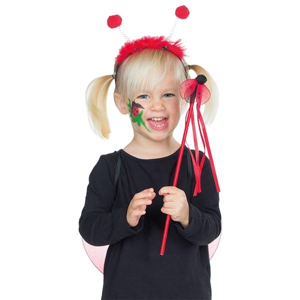 Kostüm-Zubehör Marienkäfer Set 3tlg. Kinder