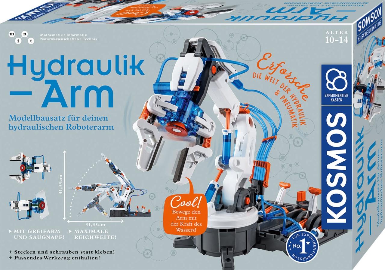 Hydraulik-Arm Experimentierkasten von Kosmos