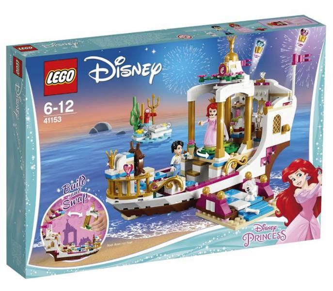 Lego Disney Princess 41153 Arielles königliches Hochzeitsboo