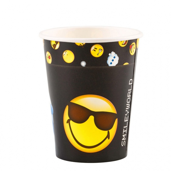 Smiley Emoticons Partybecher