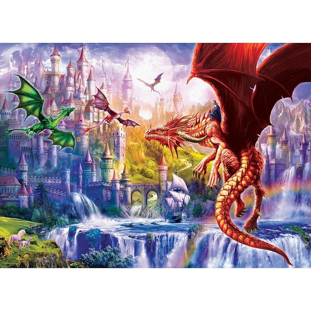 Puzzle Drachenkönigreich 500 Teile