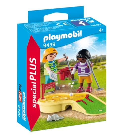 Playmobil 9439 specialPlus Kinder beim Minigolf