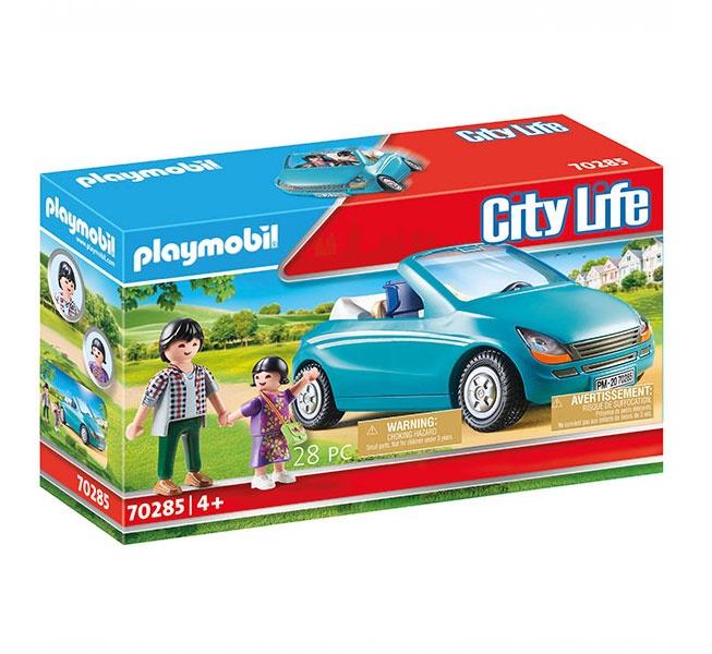 Playmobil 70285 Papa und Kind im Cabrio