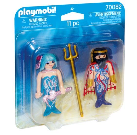 Playmobil 70082 Duo Pack Meereskönig und Nixe