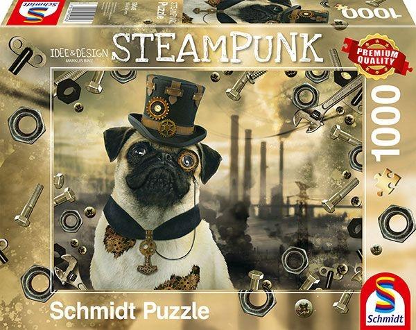 Schmidt Spiele Puzzle Markus Binz Steampunk Hund 1000 Teile