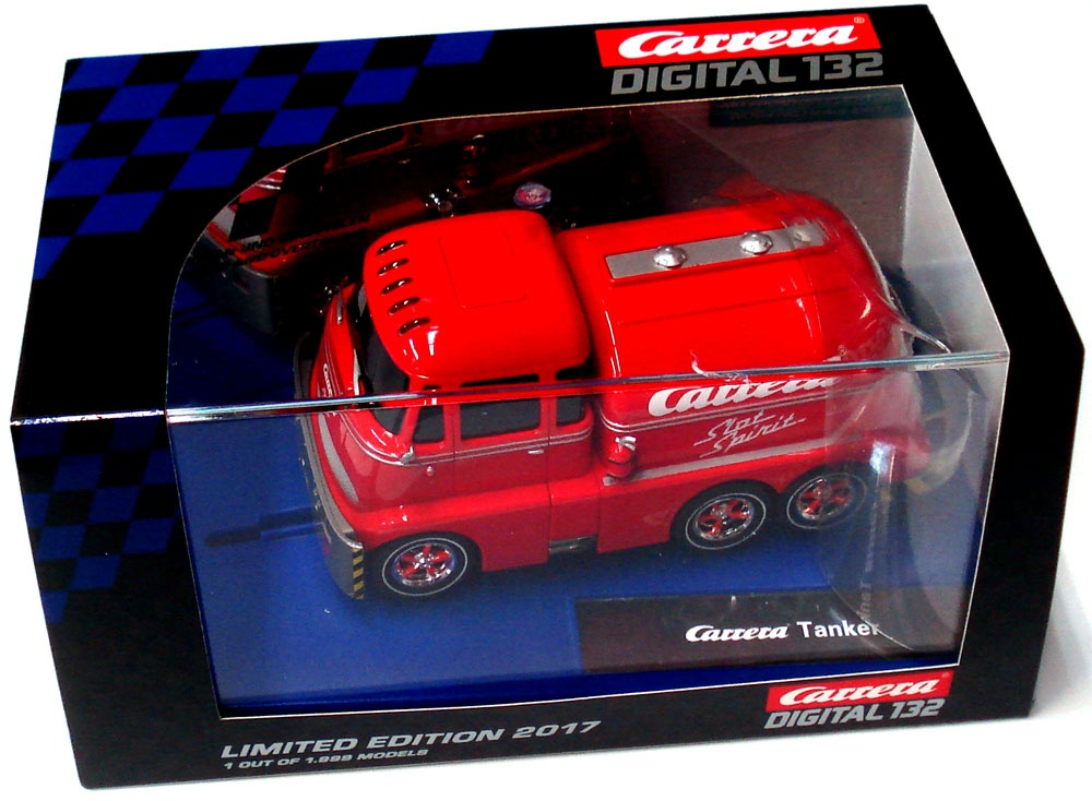 Carrera Digital 132 Tanker Slot Spirit Limited Edition 2017