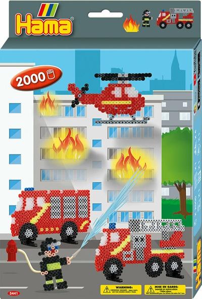 Hama Bügelperlen-Set Feuerwehr
