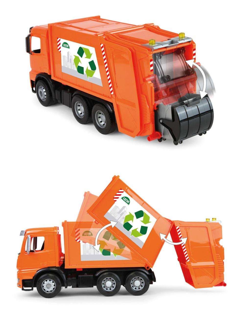 Worxx Müllwagen Arocs Mercedes von Lena 04614