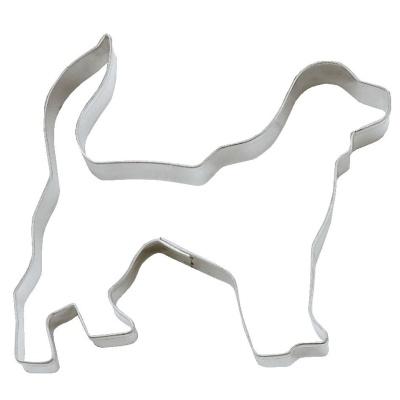 Ausstecher Hund Golden Retriever ca. 8 cm Edelstahl