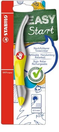 Stabilo EASYoriginal Rollerball rechts metallic/neon gelb