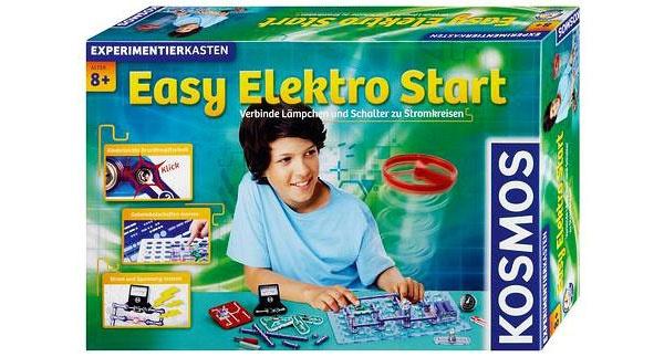 Experimentierkasten Easy Elektro Start von Kosmos