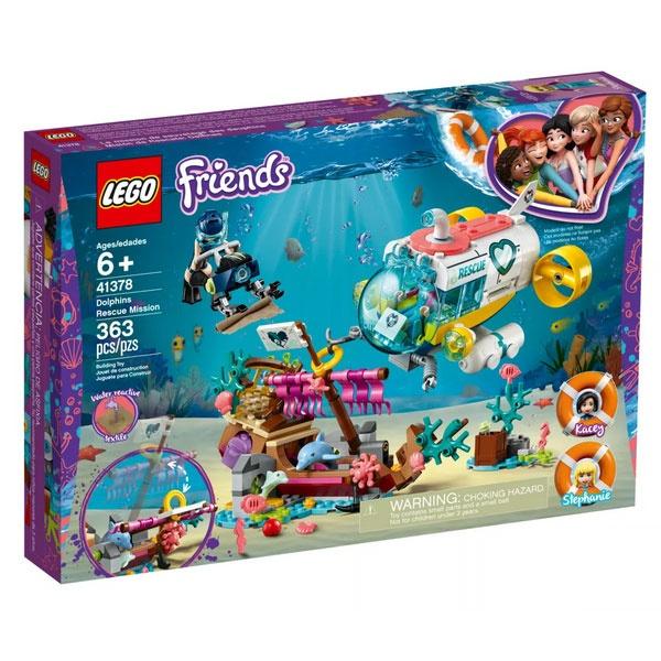 Lego Friends 41378 Rettungs-U-Boot für Delfine